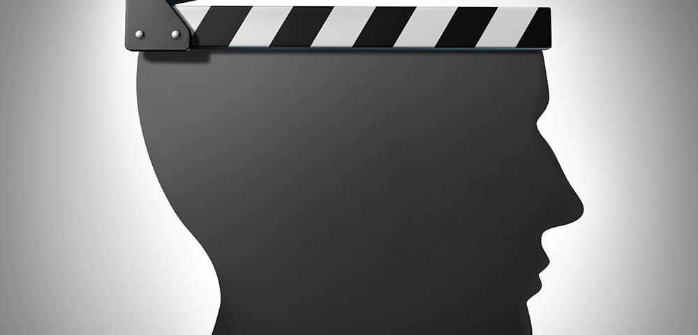 фильмы, силуэт головы человека, via shutterstock
