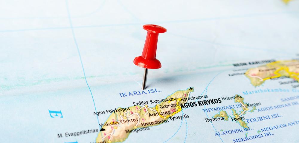 остров на карте, via shutterstock