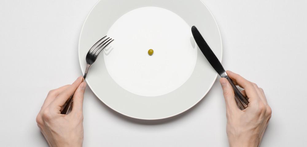 одна горошина на тарелке, via .shutterstock